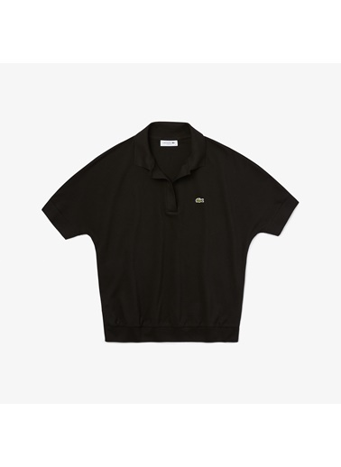 Lacoste Kadın Polo Tişört PF0504.031 Siyah